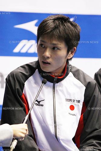 Masaki Ito (JPN), JULY 8, 2011 - Trampoline : 2011 FIG Trampoline World Cup Series Kawasaki Men's Individual at Todoroki Arena, Kanagawa, Japan.(Photo by YUTAKA/AFLO SPORT) [1040]