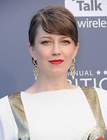 11 January 2018 - Santa Monica, California - Carrie Coon. 23rd Annual Critics' Choice Awards held at Barker Hangar. <br /> CAP/ADM/BT<br /> &copy;BT/ADM/Capital Pictures