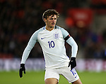 England's John Swift in action during the Under 21 International Friendly match at the St Mary's Stadium, Southampton. Picture date November 10th, 2016 Pic David Klein/Sportimage