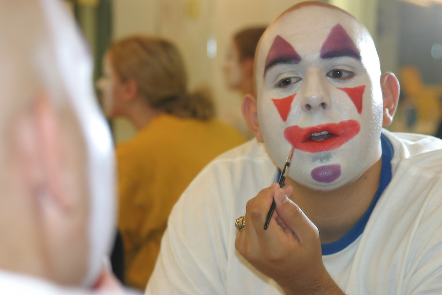 Students, student, makeup, Performing Arts