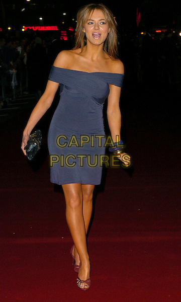 "KARA TOINTON.""Basic Instinct 2: Risk Addiction"" world film premiere at.vue cinema, Leicester Sqaure, London England, .March 15th, 2006.Ref: CAN.full length blue off the shoulder dress.www.capitalpictures.com.sales@capitalpictures.com.©Steve Finn/Capital Pictures"