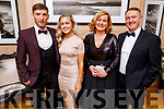 Paul Kennelly, Sinead Rath, Patricia and Pat Carmody attending the Scoil Eoin Valentine's Ball Fundraiser in the Ballygarry House Hotel on Friday night.