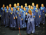 Scoil Mhuire choir Trim performing in the School Stars auditions in the TLT Drogheda. Photo: Colin Bell/pressphotos.ie