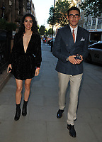 Adrianne Ho and Hu Bing at the LFW (Men's) s/s 2019 GQ Dinner to close this season's London Fashion Week Men's, Palm Court at The Principal London, Russell Square, London, England, UK, on Monday 11 June 2018.<br /> CAP/CAN<br /> &copy;CAN/Capital Pictures