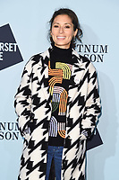 Jasmine Helmsley<br /> arriving for the Skate at Somerset House 2017 opening, London<br /> <br /> <br /> ©Ash Knotek  D3351  14/11/2017