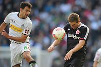 FUSSBALL   1. BUNDESLIGA  SAISON 2012/2013   7. Spieltag   Borussia Moenchengladbach - Eintracht Frankfurt   07.10.2012 Lukas Rupp (li, Borussia Moenchengladbach) gegen Bastian Oczipka (re, Eintracht Frankfurt)