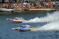 """Andrew Tate, GP-101 and Martin Rochon, GP-77 """"Coppertone Sport"""" (Grand Prix Hydroplane(s)"""