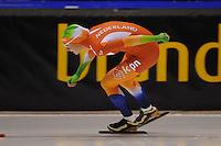 SCHAATSEN: HEERENVEEN: 04-10-2014, IJsstadion Thialf, Trainingswedstrijd, Melissa Wijfje, ©foto Martin de Jong