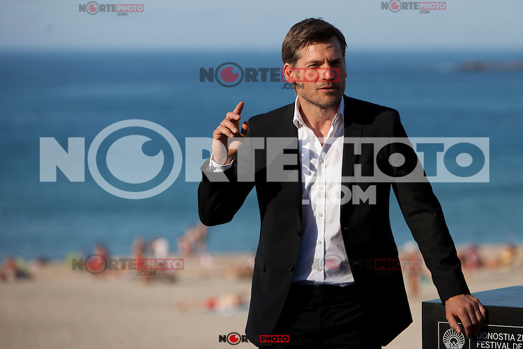 Danish actor Nikolaj Coster-Waldau presents the film 'A Second Chance' during the 62st San Sebastian Film Festival in San Sebastian, Spain. September 21, 2014. (ALTERPHOTOS/Caro Marin)