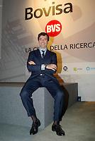 """milano, quartiere bovisa. presentazione del nuovo progetto urbanistico """"Nuova Bovisa"""" per l'area dei gasometri. nella foto: alessandro pasquarelli, amministratore delegato euromilano --- milan, bovisa district. presentation of the new city plan """"Nuova Bovisa"""" for the area of the gasometers. alessandro pasquarelli, CEO of euromilano"""