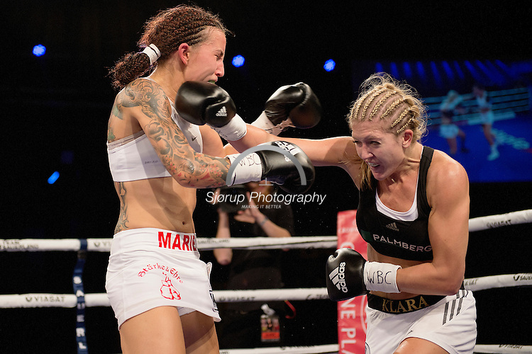 Fight Night Tap1<br /> Marie Riederer (Germany) VS Klara Svensson (Sweden)