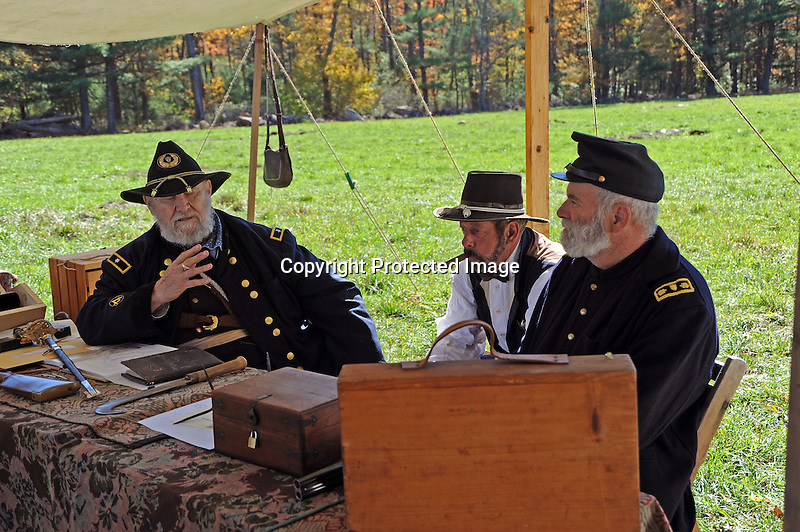 Civil War Reenactment Union Army Engineering Field Office