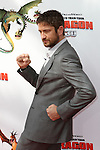 GERARD BUTLER. Arrivals to the Los Angeles premiere of Dreamworks' How To Train Your Dragon at the Gibson Amphitheater. Universal City, CA, USA. March 21, 2010.