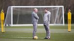 06.03.2020: Rangers training: Gary McAllister and Steven Gerrard