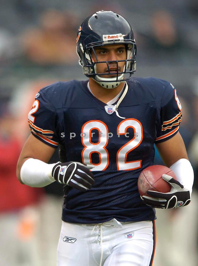 Gabe Reid, of the Chicago Bears, in action during thier game against the Carolina Panthers on November 20, 2005...David Durochik / SportPics..Bears win 13-3
