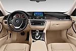 Straight dashboard view of a 2013 BMW 318d Gran Turismo Luxury Hatchback2013 BMW 318d Gran Turismo Luxury Hatchback