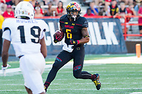 College Park, MD - SEPT 23, 2017: Maryland Terrapins running back Ty Johnson (6) runs the ball during game between Maryland and UCF at Capital One Field at Maryland Stadium in College Park, MD. (Photo by Phil Peters/Media Images International)