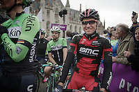 Greg Van Avermaet (BEL/BMC) at the start<br /> <br /> Ronde van Vlaanderen 2014
