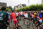 Ready for the ceremonial start in Dusseldorf before the start of Stage 2 of the 104th edition of the Tour de France 2017, running 203.5km from Dusseldorf, Germany to Liege, Belgium. 2nd July 2017.<br /> Picture: Eoin Clarke | Cyclefile<br /> <br /> <br /> All photos usage must carry mandatory copyright credit (&copy; Cyclefile | Eoin Clarke)