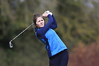 Seana McGuinness (Greenore) during the second round of the Irish Girls' Open Stroke Play Championship, Roganstown Golf Club, Swords, Ireland. 14/04/2018.<br /> Picture: Golffile | Fran Caffrey<br /> <br /> <br /> All photo usage must carry mandatory copyright credit (&copy; Golffile | Fran Caffrey)