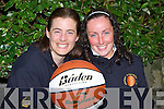 BASKETBALL: Ursula Barrett and Breda Slattery of the Ardfert Basketball Div 3 league team who are looking for new recruits for the new season.   Copyright Kerry's Eye 2008