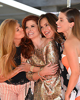 Connie Britton, Debra Messing, Mariska Hargitay, Sophia Bush at the Hollywood Walk of Fame Star Ceremony honoring actress Debra Messing on Hollywood Boulevard, Los Angeles, USA 06 Oct. 2017<br /> Picture: Paul Smith/Featureflash/SilverHub 0208 004 5359 sales@silverhubmedia.com