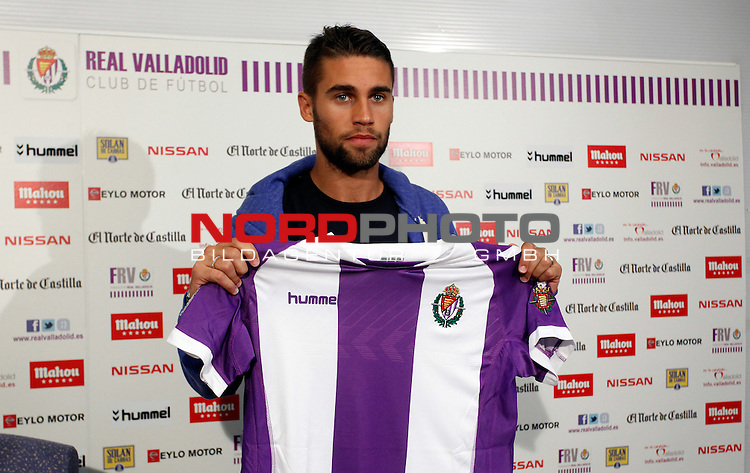 Fausto Rossi during the official presentation as a new Real Valladolid¬¥s player in Jose Zorrilla Stadium. Valladolid, Spain. August 29,2013. Foto © nph / Victor Blanco)