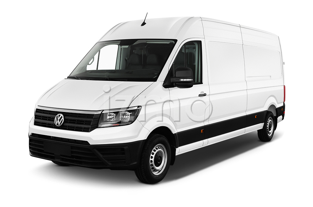 2019 Volkswagen Crafter Base 4 Door Cargo Van angular front stock photos of front three quarter view