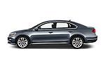 Car Driver side profile view of a 2016 Volkswagen Passat 3.6L-SEL-Premium-Auto 4 Door Sedan Side View