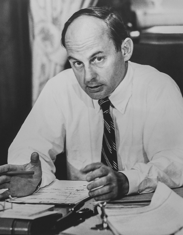 Sen. Adlai Stevenson III, D-Ill. 1975 (Photo by CQ Roll Call)
