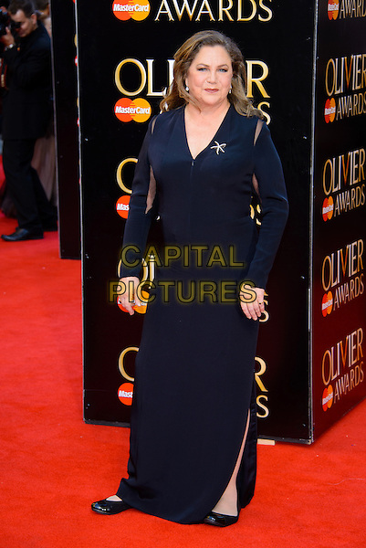 LONDON, ENGLAND - APRIL 13: Kathleen Turner attends the Olivier Awards 2014 at the Royal Opera House on April 13, 2014 in London, England. <br /> CAP/CJ<br /> &copy;Chris Joseph/Capital Pictures