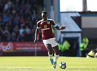 Burnleys' Daniel Agyei <br /> <br /> Photographer Rachel Holborn/CameraSport<br /> <br /> The Premier League - Burnley v Manchester United - Sunday 23rd April 2017 - Turf Moor - Burnley<br /> <br /> World Copyright &copy; 2017 CameraSport. All rights reserved. 43 Linden Ave. Countesthorpe. Leicester. England. LE8 5PG - Tel: +44 (0) 116 277 4147 - admin@camerasport.com - www.camerasport.com
