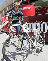 Juan Jose Cobo during the stage of La Vuelta 2012 between Logroño and Logroño.August 22,2012. (ALTERPHOTOS/Acero) /NortePhoto.com<br /> <br /> **SOLO*VENTA*EN*MEXICO**<br /> **CREDITO*OBLIGATORIO**<br /> *No*Venta*A*Terceros*<br /> *No*Sale*So*third*<br /> *** No Se Permite Hacer Archivo**<br /> *No*Sale*So*third*