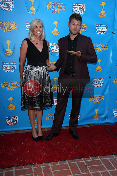 Travis Van Winkle and mom<br /> at the 41st Annual Saturn Awards, The Castaway, Burbank, CA 06-25-15<br /> David Edwards/Dailyceleb.com 818-249-4998