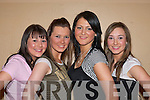 Killarney ladies who modeled at the Passion for Fashion show in aid of Kerry Cystic Fibrosis in Killarney Outlet Centre on Thursday evening l-r: Katie Hennigan, Claudia Lucey, Kamile Muleviciute and Briana Kelly   Copyright Kerry's Eye 2008