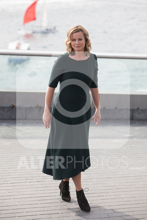 Awarded actress Emily Watson arrives to photocall during 63rd Donostia Zinemaldia (San Sebastian International Film Festival) in San Sebastian, Spain. September 25, 2015. (ALTERPHOTOS/Victor Blanco)