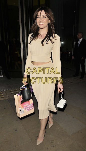 LONDON, ENGLAND - MARCH 10: Daisy Lowe attends the Rodial Beautiful Awards 2014, St Martin's Lane Hotel, St Martin's Lane, on Monday March 10, 2014 in London, England, UK.<br /> CAP/CAN<br /> &copy;Can Nguyen/Capital Pictures