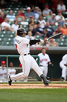 June 2, 2007:  Jose Hernandez of the Indianapolis Indians at Victory Field in Indianapolis, IN.  Photo by:  Chris Proctor/Four Seam Images