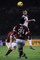 Miralem Pjanic of Juventus , Ola Aina of Torino FC <br /> Torino 02/11/2019 Stadio Comunale <br /> Football Serie A 2019/2020 <br /> Torino FC - Juventus FC   <br /> Photo Federico Tardito / Insidefoto