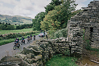 Team JLT-Condor time trialling through the magnificent Lake District National Park in Cumbria<br /> <br /> Stage 5 (TTT): Cockermouth to Whinlatter Pass (14km)<br /> 15th Ovo Energy Tour of Britain 2018
