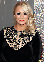 Kirsty Leigh Porter at The British Soap Awards 2019 arrivals. The Lowry, Media City, Salford, Manchester, UK on June 1st 2019<br /> CAP/ROS<br /> ©ROS/Capital Pictures