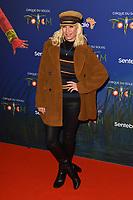 Denise Van Outen<br /> arriving for the Cirque du Soleil Premiere of TOTEM at the Royal Albert Hall, London<br /> <br /> ©Ash Knotek  D3471  16/01/2019