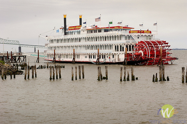 Queen of the West.paddle wheel tour boat
