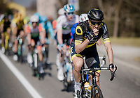 Niki Terpstra (NED/Direct Energie) snacking away<br /> <br /> 110th Milano-Sanremo 2019 (ITA)<br /> One day race from Milano to Sanremo (291km)<br /> <br /> ©kramon