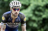 dirty Tom Boonen (BEL/Etixx-QuickStep) <br /> <br /> 1st Dwars door het Hageland 2016<br /> (pics by L&eacute;on Van Bon)