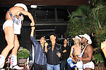 Naked Cowboys and Randy Jones (Village People) and husband Will Grega celebrate their marriage (this morning September 13, 2013) with a celebration at the 13th Annual Kings & Cowboys at DL in New York City, New York. Randy is also celebrating his birthday.  (Photo by Sue Coflin/Max Photos)