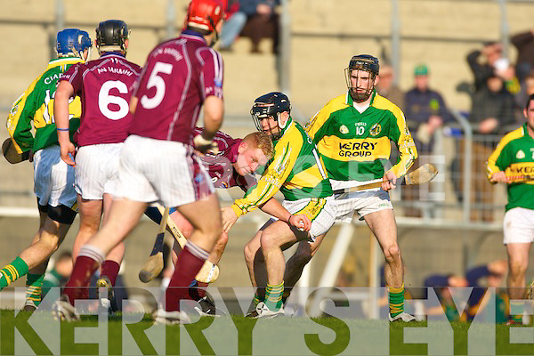 Kerry v Westmeath in the National Hurling League at Austin Stack Park Tralee on Sunday.   Copyright Kerry's Eye 2008