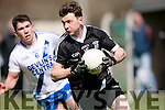 Ardfert's John Egan and  st. Mary's Conor O'Shea at the Intermediate Club Football Championship 2016 Ardfert Football Club vs St Mary's at  Ardfert GAA on Saturday