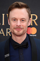 Christopher Wheeldon<br /> arriving for the Olivier Awards 2018 at the Royal Albert Hall, London<br /> <br /> ©Ash Knotek  D3392  08/04/2018
