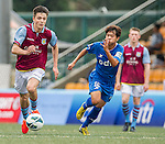 Aston Villa plays BC Rangers during the HKFC Citibank International Soccer Sevens at the Hong Kong Football Club on 25 May 2013 in Hong Kong, China. Photo by Victor Fraile / The Power of Sport Images